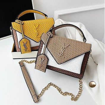YSL Yves Saint Laurent All-match cross-body chain handbags single shoulder small square bag
