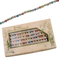 Small Pastel Beaded Vintage Garland