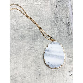 Marble Rock Necklace