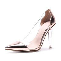 Women's Sexy Super High Heels Crystal Pumps