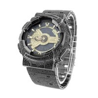G Shock Watch GA110GB-1A Custom Full  Digital Analog