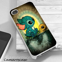 Stitch and Turtle iphone 4/4s/5/5c/5s case, Stitch and Turtle samsung galaxy s3/s4/s5, Stitch and Turtle samsung galaxy s3 mini/s4 mini, Stitch and Turtle samsung galaxy note 2/3