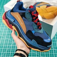 Balenciaga Triple S Multicolor Running Sneaker Best Goods