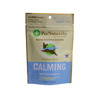 Pet Naturals of Vermont Calming for Small Dogs Chicken Liver - 21 Soft Chews