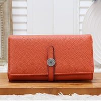HERMES WOMEN'S LEATHER CONSTANCE WALLET