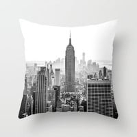 New York City Throw Pillow by Studio Laura Campanella