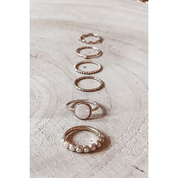 Triple Threat Gold Stackable Rings