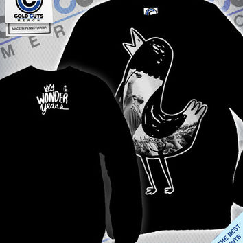 """Cold Cuts Merch - The Wonder Years """"Live Hank"""" Crew Neck"""