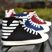 Men's Fashion Ankle High Sneakers