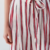 UO Ava Striped Paperbag Pant | Urban Outfitters