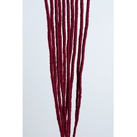 """Crimson Red Single Ended Faux Locs 18"""""""
