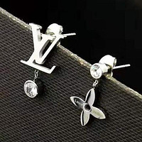 LV Louis Vuitton New fashion letter diamond earring