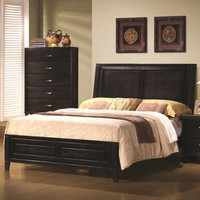 Nacey Contemporary Headboard and Footboard Bed