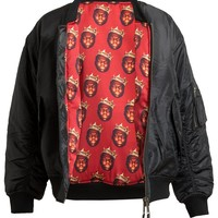 ABRAHAMSSON | Reversible Biggie Printed Bomber Jacket | Browns fashion & designer clothes & clothing