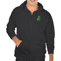 Hoodie with dragon cartoon