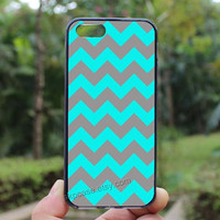 Chevron case,lighting blue chevron,iphone 5s case,iphone 4 case,iPhone4s case, iphone 5 case,iphone 5c case,Gift,Personalized,water proof