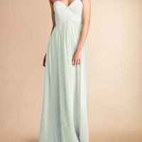Long Bridesmaid dress - long bridesmaid / Bridesmaid dress in formal / Chiffon bridesmaid / long evening dress / cheap evening gown