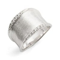 Marco Bicego Lunaria Small Diamond Band Ring | Nordstrom