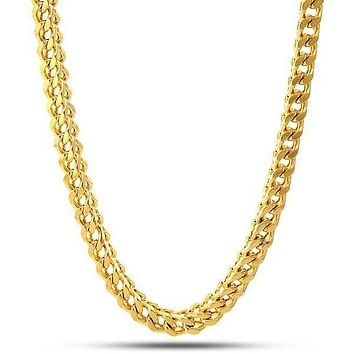 6mm, .925 Sterling Silver Franco Chain