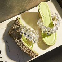 Summer Fashion Women's Shoes - Lace Up Sandals for summer bling jewel  = 4777143684