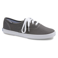 Keds Champion Original Lace Up Sneakers {Graphite Gray} Women's | WF35186