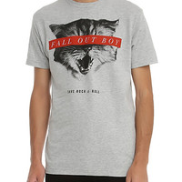 Fall Out Boy Save Rock & Roll Cat Slim-Fit T-Shirt