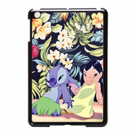 Lilo And Stitch Dancing Floral iPad Mini Case