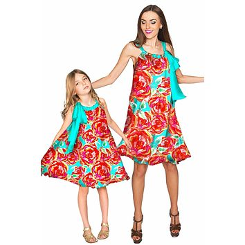 Oh So Sassy Melody Swing Chiffon Mother and Daughter Dresses