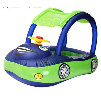 Children's Inflatable Swim Ring Car Model Water Toys