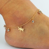 New Arrival Cute Jewelry Gift Stylish Sexy Ladies Shiny Hot Sale Diamonds Anklet [8527541575]