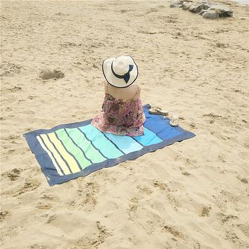 Beach Towel Zipsoft Towels Large Size Quick Dry Swimming Sport Hiking Camping Shower Fibers for Beach pool