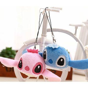 Kawaii 2Colors - Mini 4*3CM Plush Stuffed TOY , Pendant TOY Key Chain DOLL ; Wedding Gift Bouquet DOLL TOY