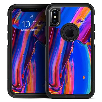 Blurred Abstract Flow V5 - Skin Kit for the iPhone OtterBox Cases