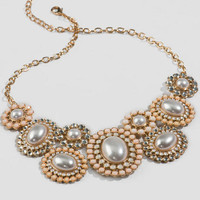 Marianna Floral Pearl Necklace