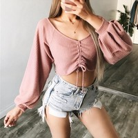 Hot Sale Women's Fashion Winter Lights T-shirts [56916246543]