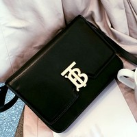 Burberry New TB Logo Metal Buckle Mini Shoulder Crossbody Bag