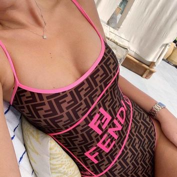 Fendi  Fashion casual swimsuit