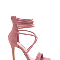 Soft To The Touch Strappy Stiletto Heels