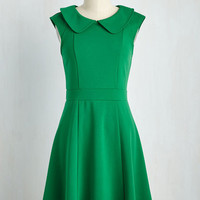 Foxtail & Fern Dress in Clover