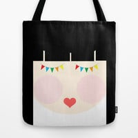 Hey there, Doll Face! Tote Bag by Sreetama Ray