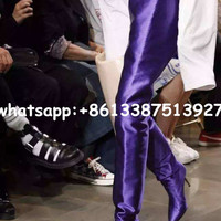 New 2017 Designer Extreme Long Waist Boot Celebrity Women Fashion Booties Nightclub Stiletto Crotch High Boots High Heels Shoes