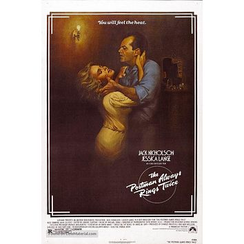 The Postman Always Rings Twice Poster//The Postman Always Rings Twice Movie Poster//Movie Poster//Poster Reprint