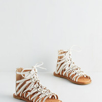 Boho A Piece of the Athens in White by ModCloth