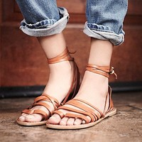 Womens Harpoon Wrap Sandal
