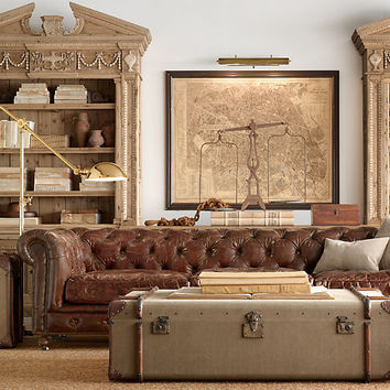Kensington Leather Sofas