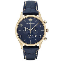 Emporio Armani Men's Classic Chronograph Gold Tone Stainless Steel Wat