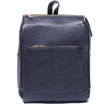 Structure This Navy Backpack