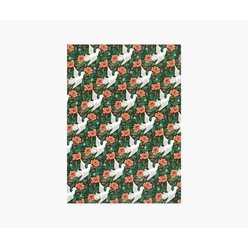 Peace Dove Wrapping Sheets