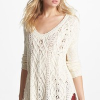 Free People 'Cross My Heart' High/Low Sweater | Nordstrom
