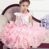 Toddler Flower Wedding Dress Princess Baby Organza Cute Lovely Dresses Children 7_S = 1905682820